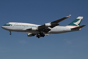 Boeing 747 Cathay Pacific Cargo