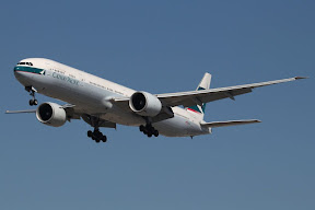 Boeing 777 Cathay