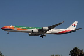 Airbus 340 China Eastern Airlines