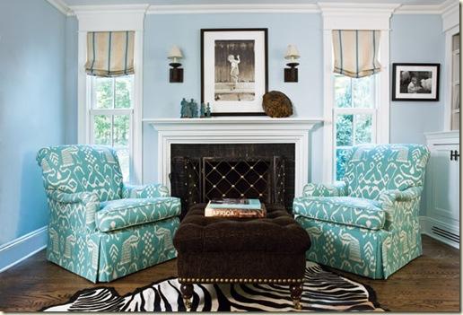 Janet Hiltz turq chairs