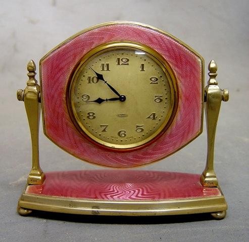 [pink gullioche clock on stand[2].jpg]