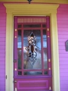 [pinkpainteddoor225x300hookedonhouses.jpg]