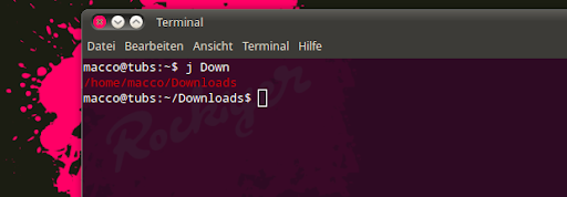 Ubuntu-Autojump in Action