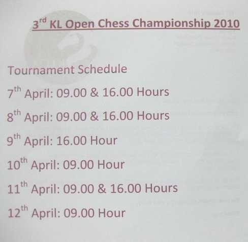klopen-schedule