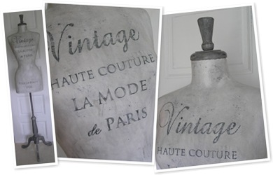 Visa Grå provdocka Vintage Haute Couture