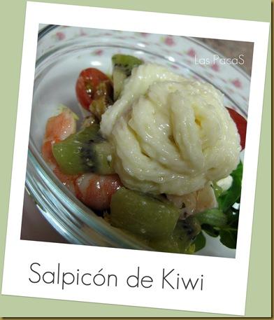 coctel kiwi-gambas