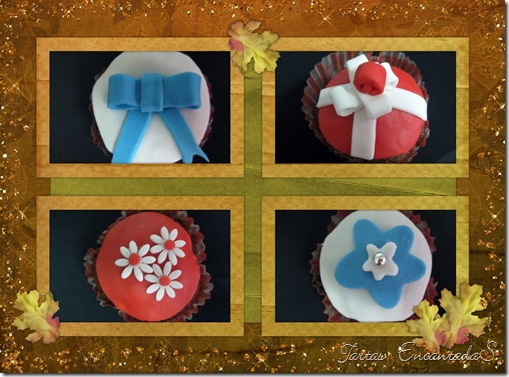 Collage decupcakes