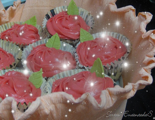 cupcakes ramo rosas blog