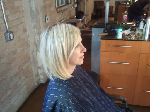 long hair than from long hair I cut a bob no layers sheek and simple…