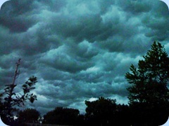 Storm Clouds Columbus, WI 7-13-10