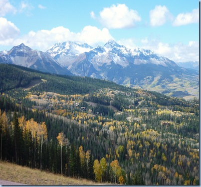 Colorado Telluride Mountain Ski Trails