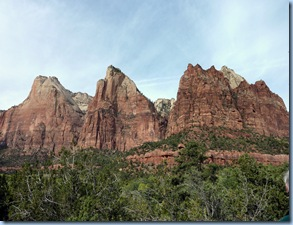 Zion Nat'l Park Court of the Patriarchs