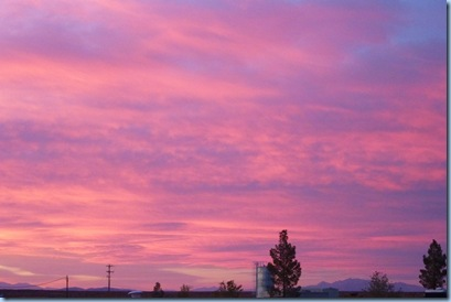 Amargosa Valley Sunset 4
