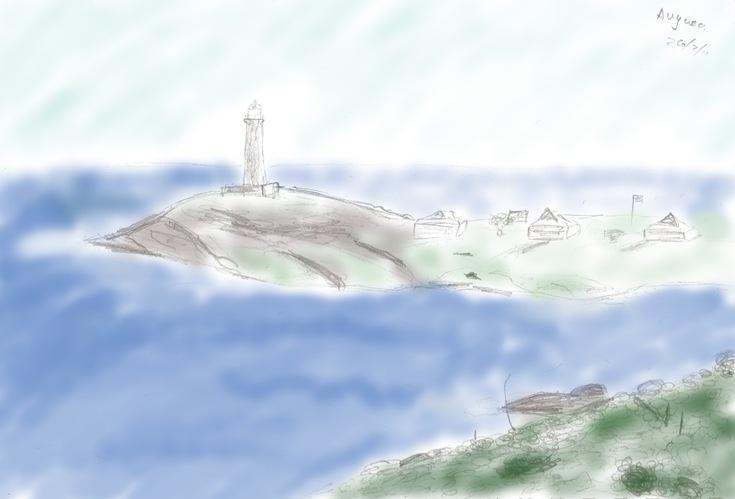 augusta lighthouse colour
