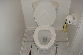 Hình: Bồn toilette, hoàn tất