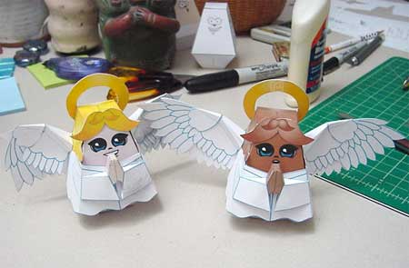Amati & Anita Angel Papercraft