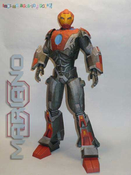 Marvel Comics Papercraft - Ultimate Ironman