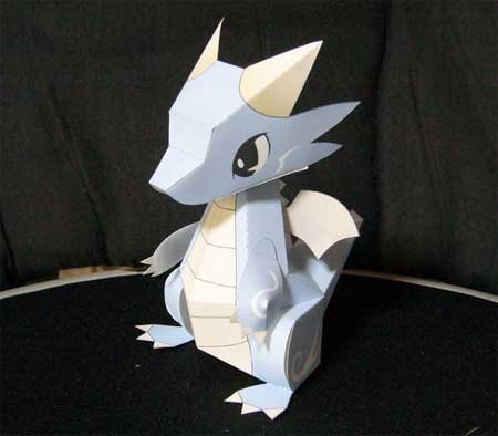 Water Dragon Papercraft