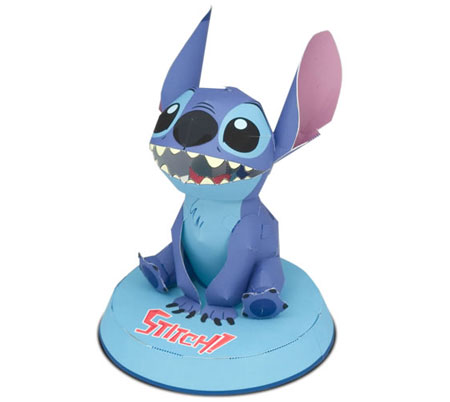 Disney Stitch Papercraft