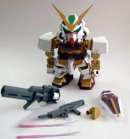 Gundam Astray Gold Frame Papercraft