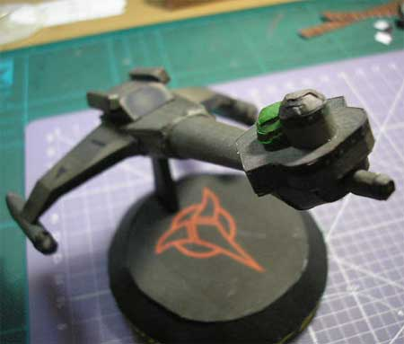 Star Trek - Klingon D6 Cruiser Papercraft