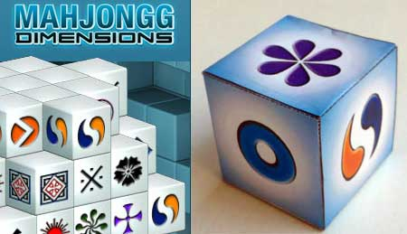 Mahjong Papercraft