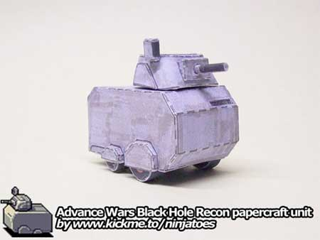 Black Hole Recon Papercraft