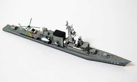 DD126 Hamayuki Papercraft
