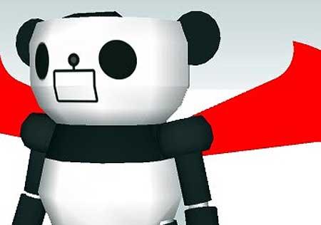 Panda Z Papercraft
