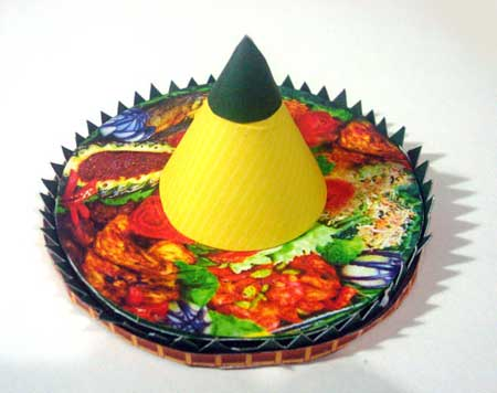 Tumpeng Papercraft