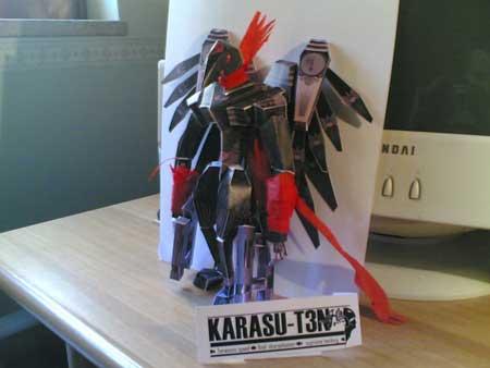 Karasu T3N Sigma Papercraft