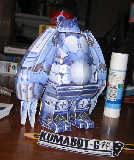 Kumabot Papercraft