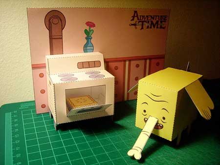 Tree Turnks Kitchen Set Papercraft