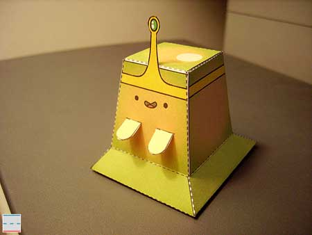 Adventure Time Slime Princess Papercraft