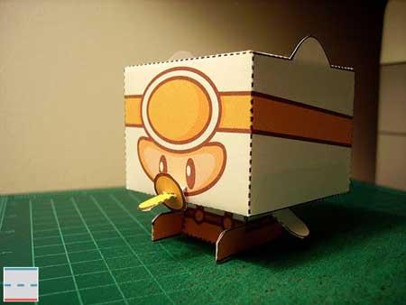 PopTag Papercraft Ike