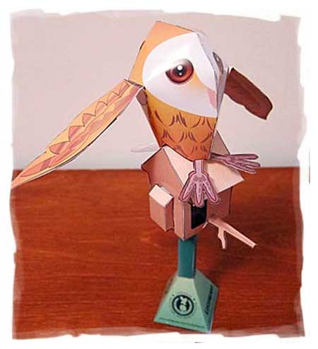 Molly the Owl Papercraft