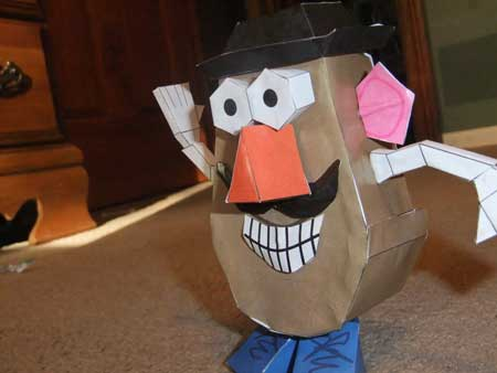 Mr. Potato Head Papercraft