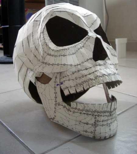 Mad Skull Papercraft