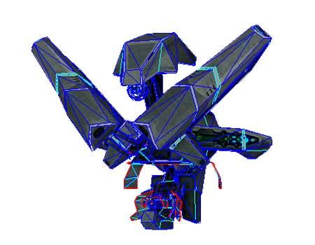 Halo Sentinel Papercraft