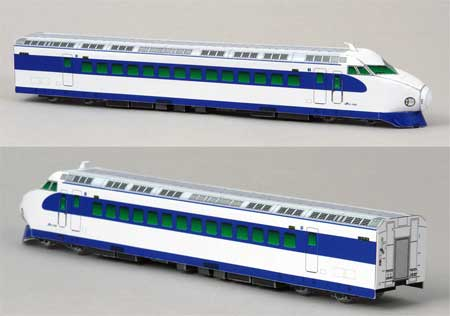 0 Series Shinkansen Train Papercraft
