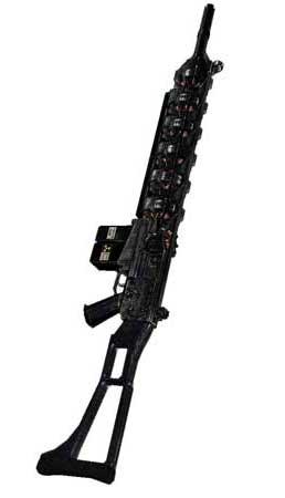 Gauss Rifle Papercraft