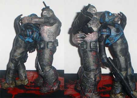 Gears of War Ben Carmine Papercraft