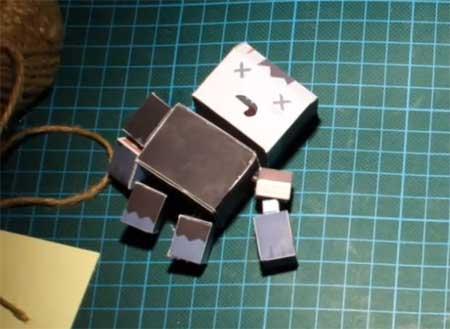 Zombigotchi Papercraft