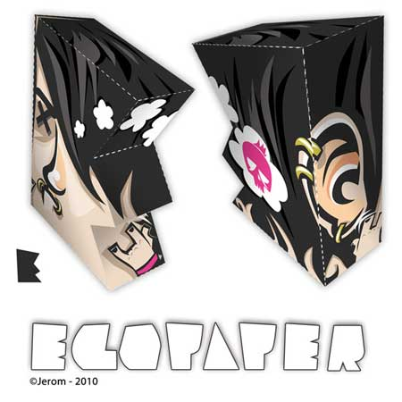 Project Egopaper Alphabet Papercraft