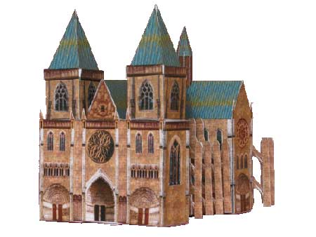 Gothic Cathedral Papercraft