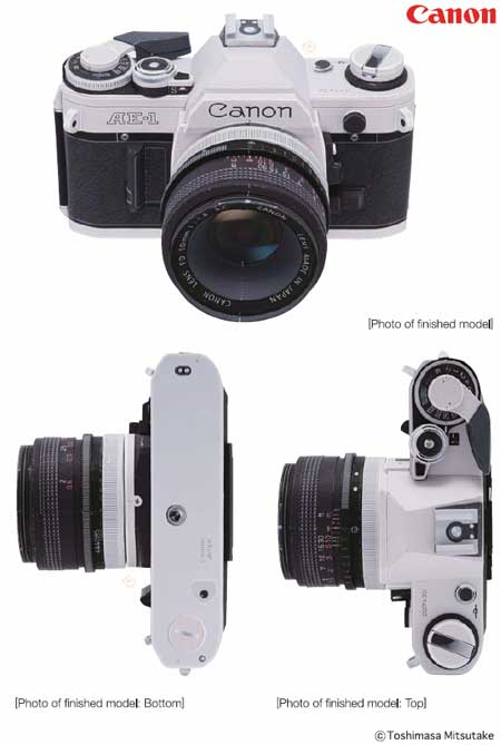 Canon AE1 Papercraft