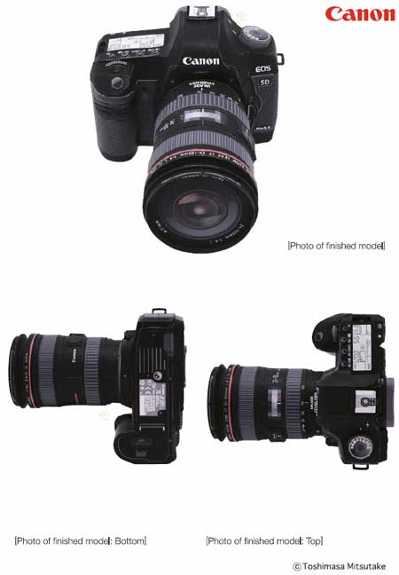 Canon EOS 5D Mk II Papercraft