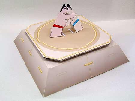 Sumo Paper Toy