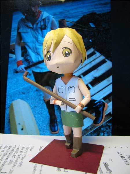 Silent Hill 3 Papercraft Chibi Heather