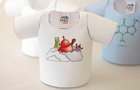 Rob Ives Tshirt Papercraft